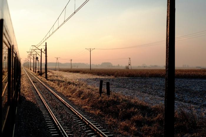 Railway landscape - krajobraz kolejowy