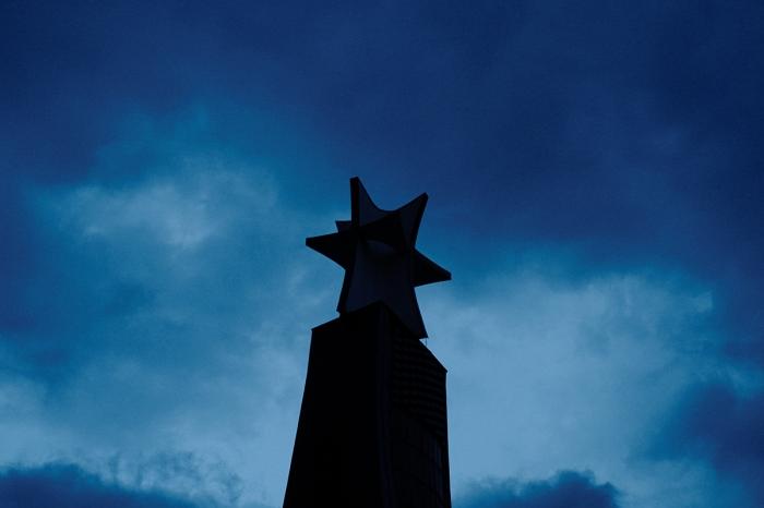 Star shaped cross - Gwieździsto kształtny krzyż